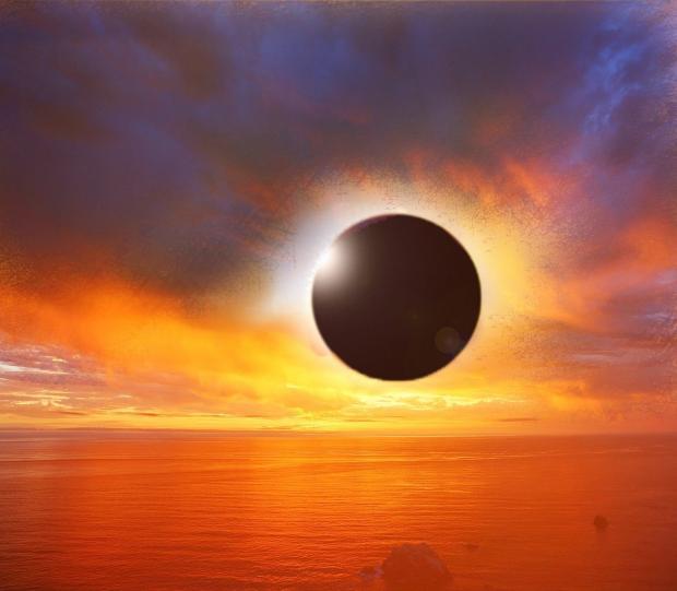 Солнечное затмение в Стрельце