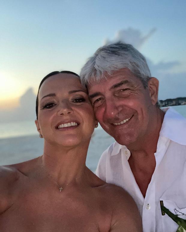 Паоло Росси с женой