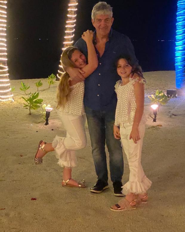 Паоло Росси с детьми