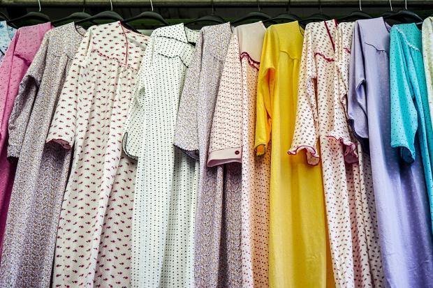 пижамы в шкафу