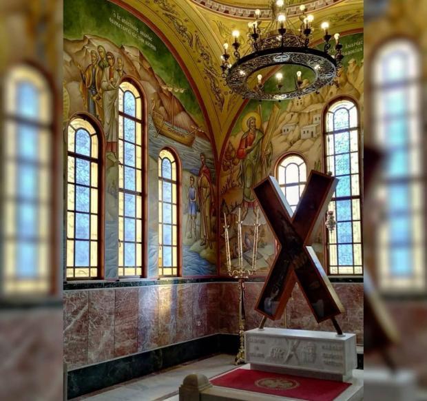 Андреевский храм расположен в церкви для его почитания