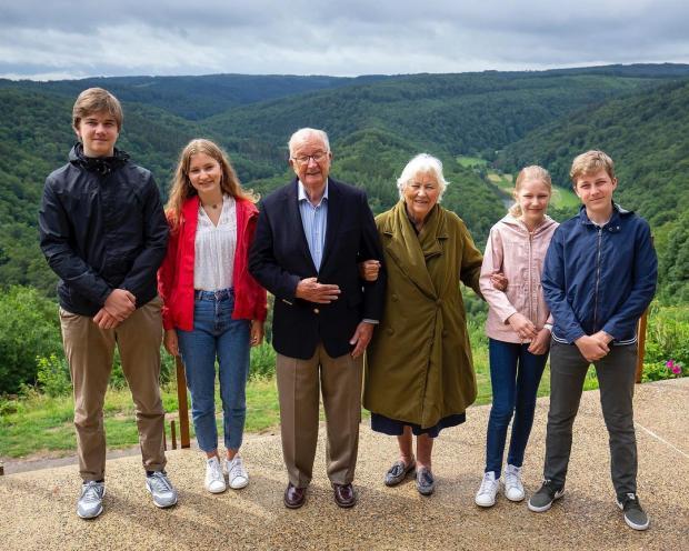 Члены королевской семьи Бельгии