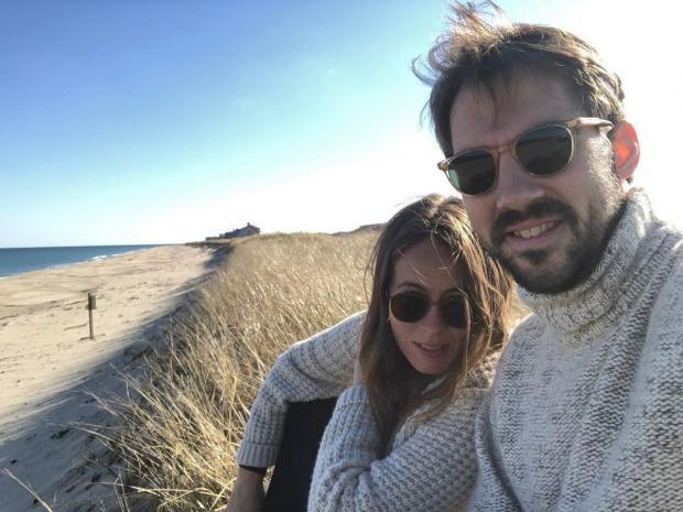 Принц Греции и Дании с женой