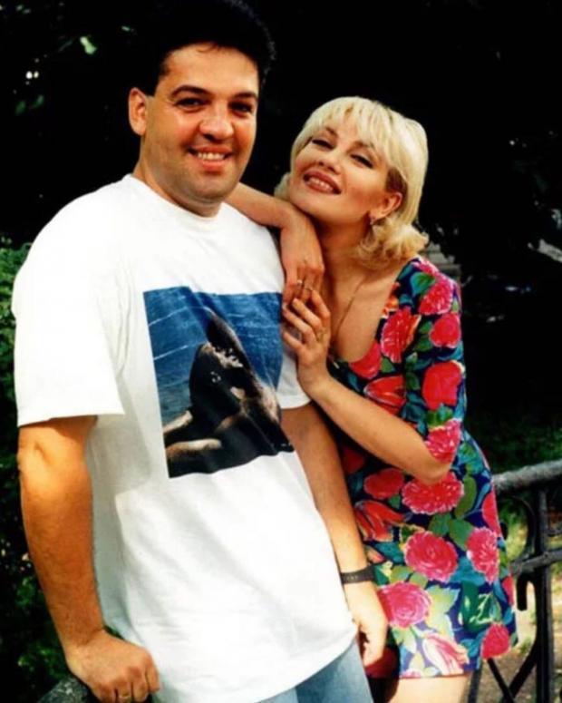 Архивное фото Таисии Повалий и ее мужа