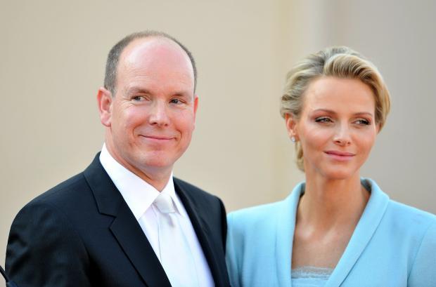 Князь и княгиня Монако