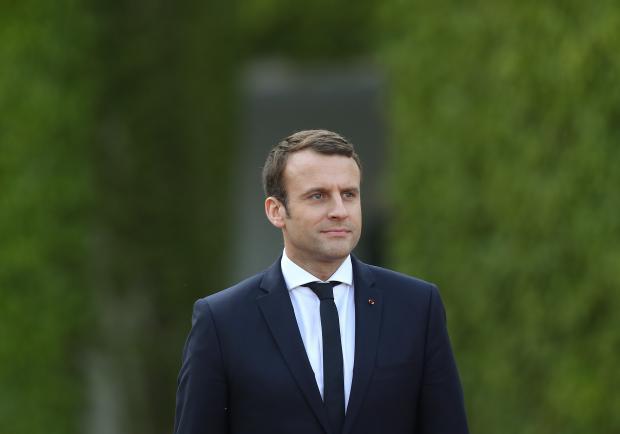 Эммануэль Макрон президент Франции