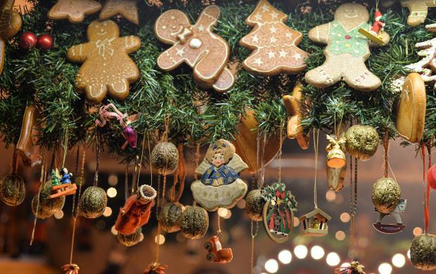 имбирное печенье на елке