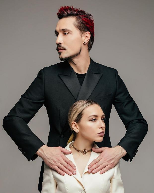 Дима Билан с младшей сестрой
