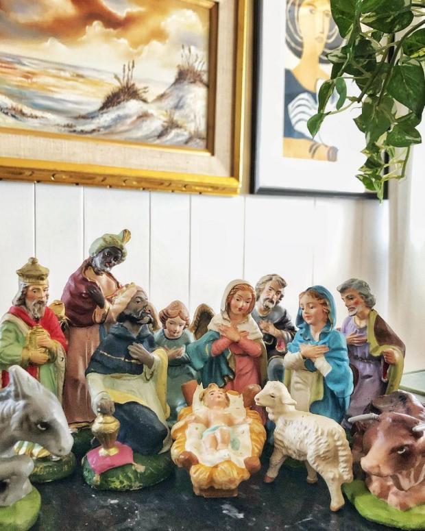 декоративная композиция Рождества Христова