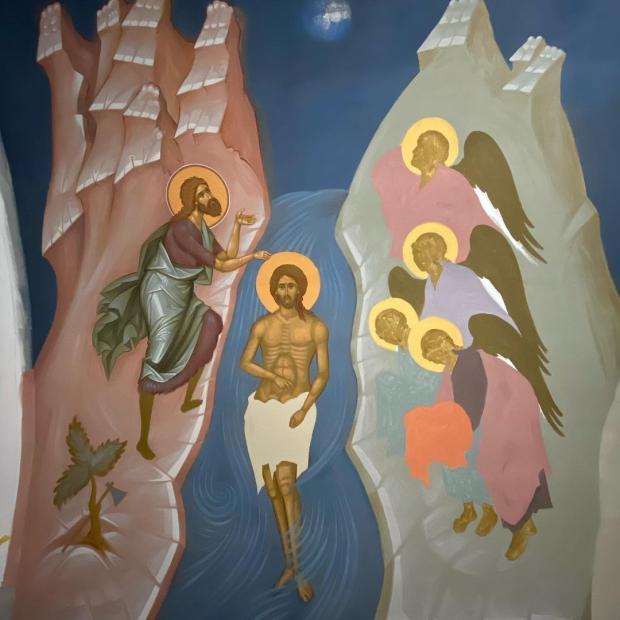 икона святого Богоявления