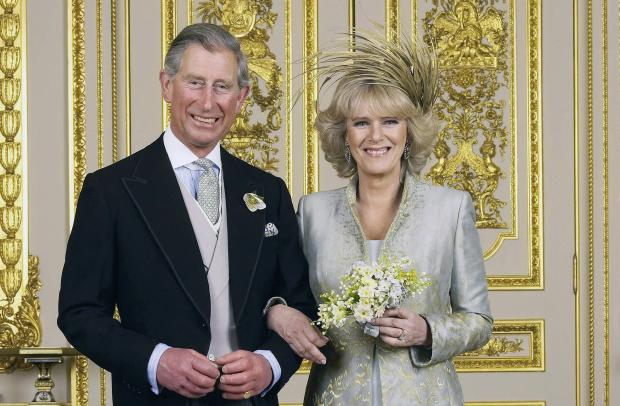 Принц Чарльз и Камилла Боулс