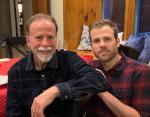 Скотт Эванс с отцом Робертом