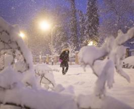 Снегопад в Испании: привычная жизнь в столице остановилась из-за шторма Феломена