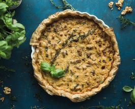 Сырный пирог с зеленым горошком: рецепт оригинального блюда для обеда или ужина