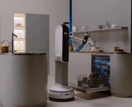 CES 2021: на выставке технологий представлен робот выполняющий работу по дому