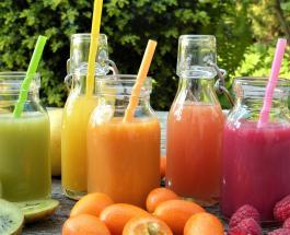 5 видов сока помогающих избавиться от лишнего веса