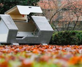Забота о бездомных: в Германии установили специальные капсулы для сна в холодное время года