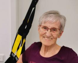 81-летняя спортсменка из Германии доказала что возраст - не помеха тренировкам