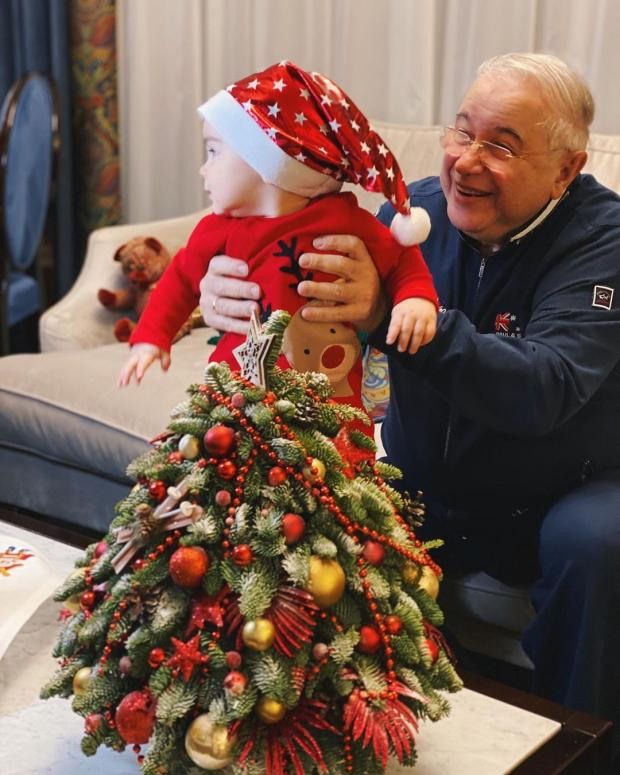 Евгений Петросян с сыном