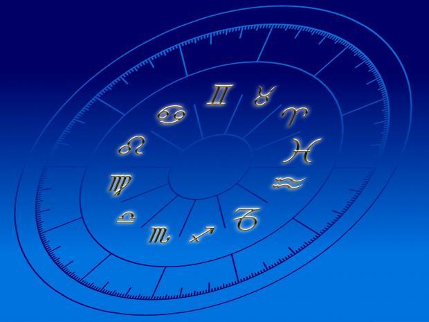 циферблат в виде знаков зодиака