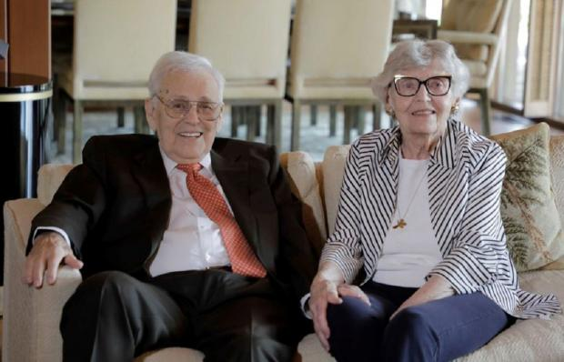 Фред Куммер с женой