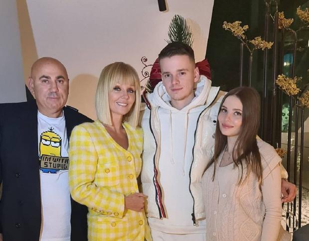 Семья певицы Валерии