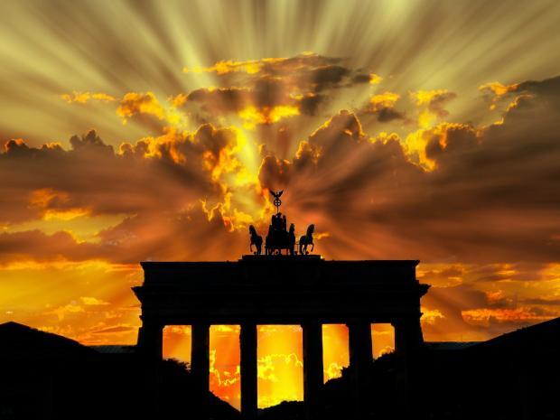 ворота брандербургские в германии