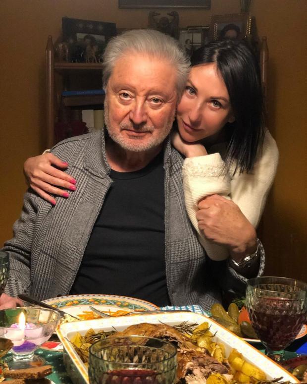 Алика Смехова с папой