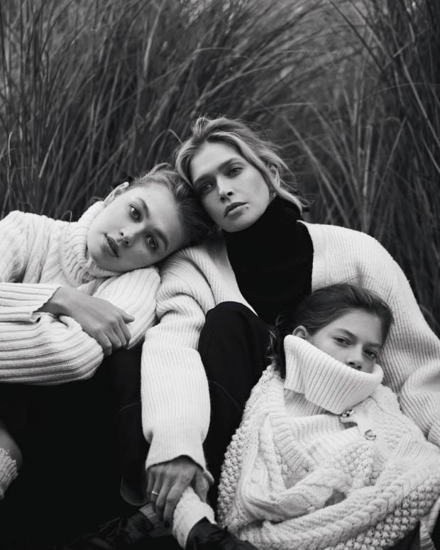 Вера Брежнева с дочками