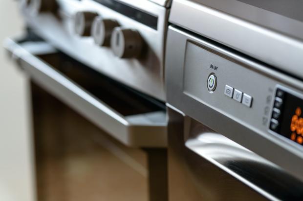 серебристая печка