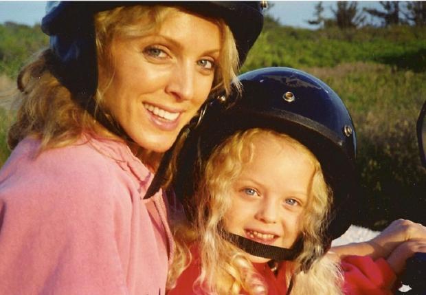 Тиффани с матерью