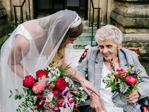 невеста с бабушкой