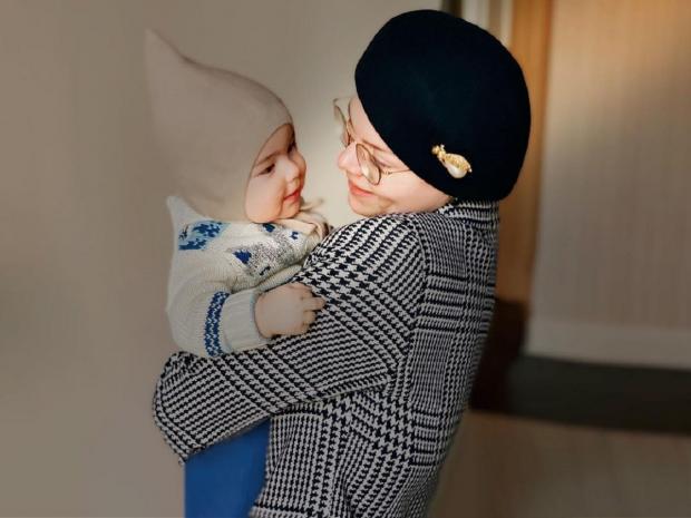 Татьяна Брухунова с сыном