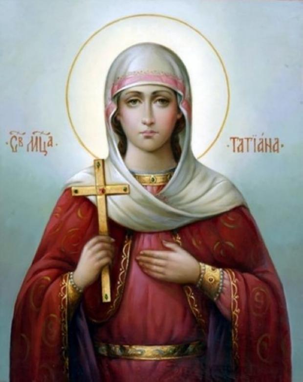 Икона Татьяны Римской