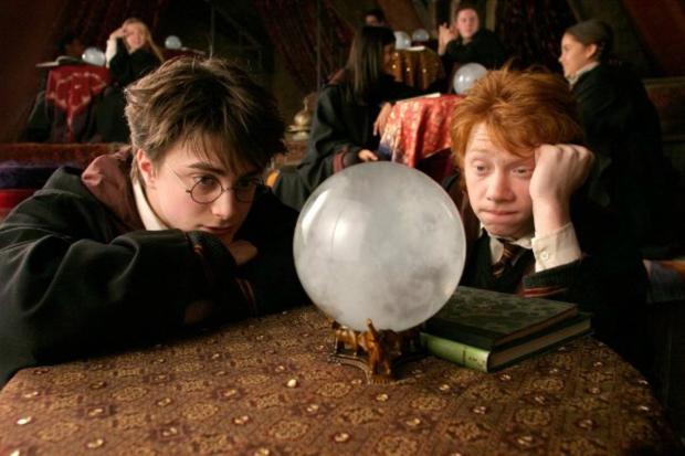 Кадр из фильма Гарри Поттер