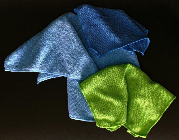 микрофибровые салфетки для уборки пыли