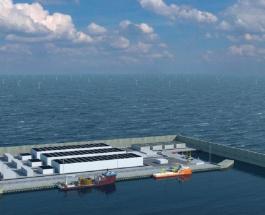 Дания построит в Северном море первый энергетический остров размером с 18 футбольных полей