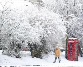 Шторм Дарси: сильные снегопады и ураганные ветры обрушились на Великобританию