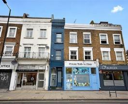 Самый узкий дом в Лондоне выставлен на продажу: фото и цена необычного здания