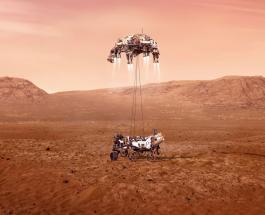 Исторический момент: марсоход НАСА коснулся поверхности Марса