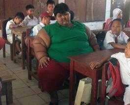 Самый толстый ребенок в мире похудел на 110 кг: как сейчас выглядит Арья Пермана