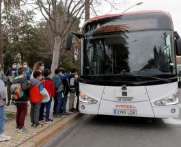 Первый в Европе автобус без водителя выехал на улицы Испании