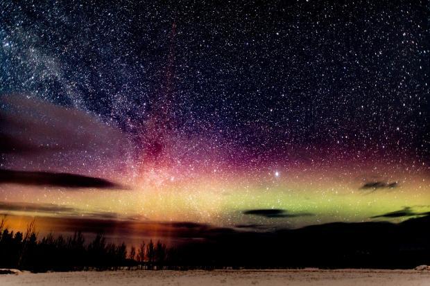 ночное февральское небо