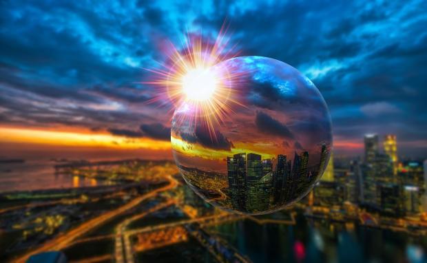 Хрустальный шар к визуальному тесту