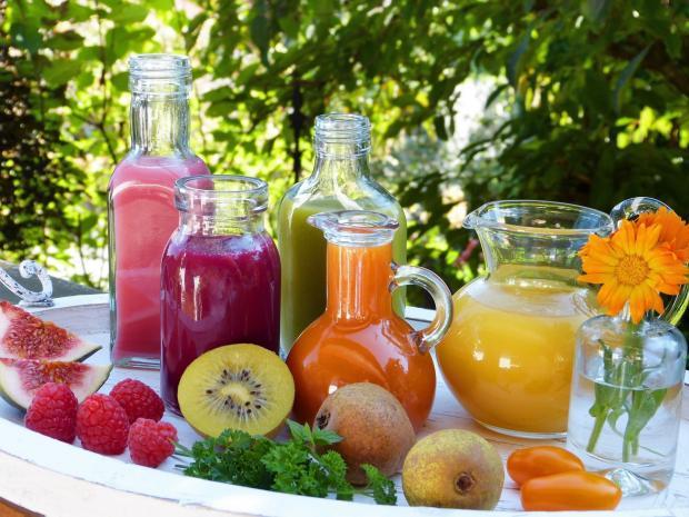 фруктовые соки, фрукты