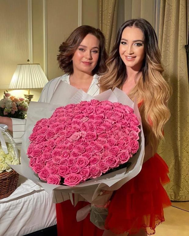 Ольга Бузова с мамой