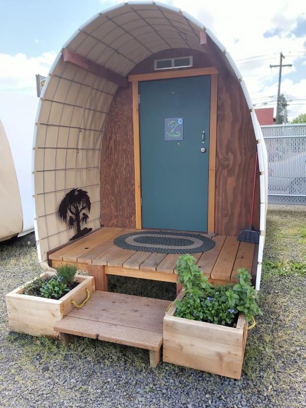 домики для бездомных