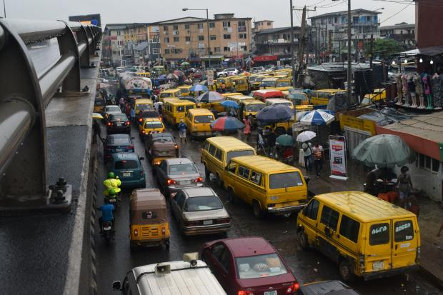 Лагос - портовый город на юго-западе Нигерии