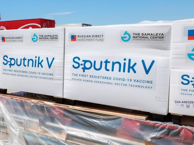 Поставки российской вакцины Sputnik V от COVID-19