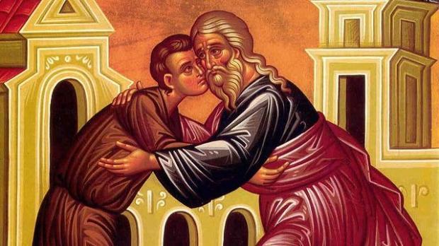 икона о встрече блудного сына